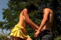 Любительское секса на озере