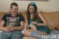 Анальный секс русской молодой пары