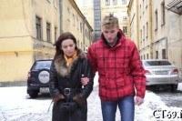 Познакомился с русской девушкой и трахнул у нее дома