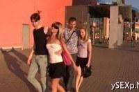 Групповой секс русских 20 летних