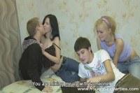 Групповой секс русской молодежи