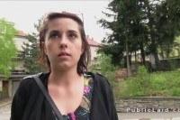 Ебет за деньги 25 летнюю девушку на улице